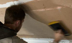 Plastering installation